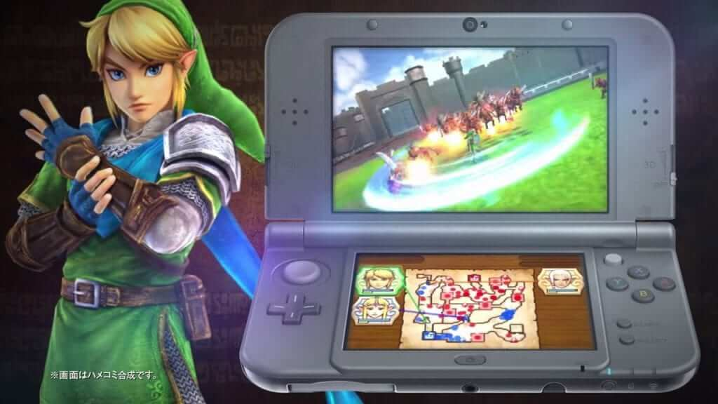 Hyrule Warriors Wii U and 3DS Comparison
