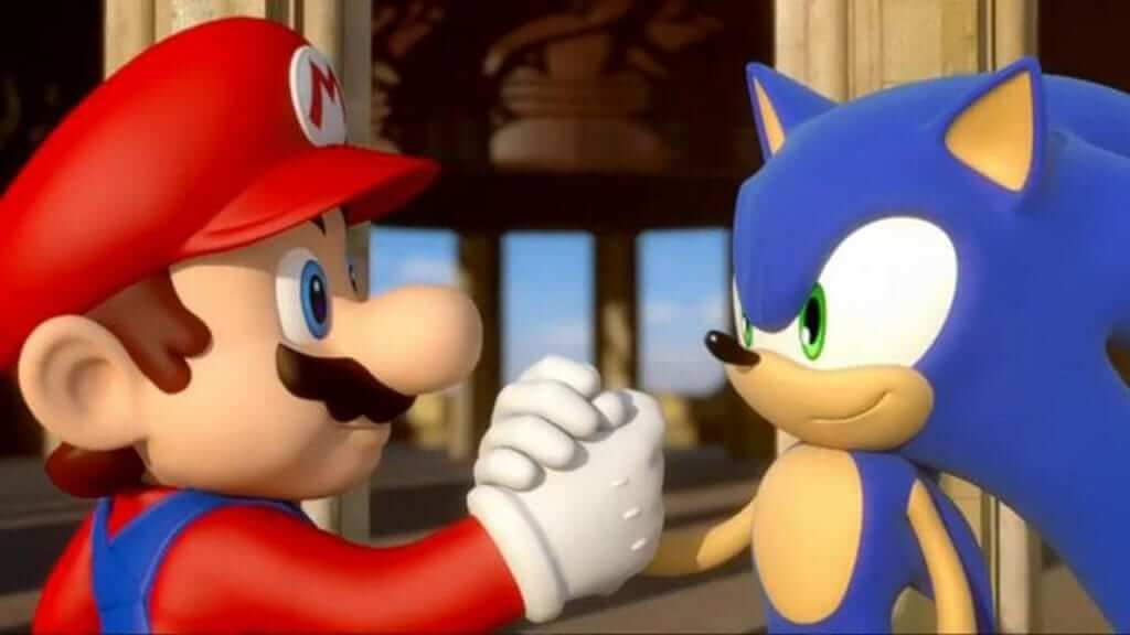 """""""May the best-a plumber win!"""" """"Right, let's have a - hey wait a second!"""""""
