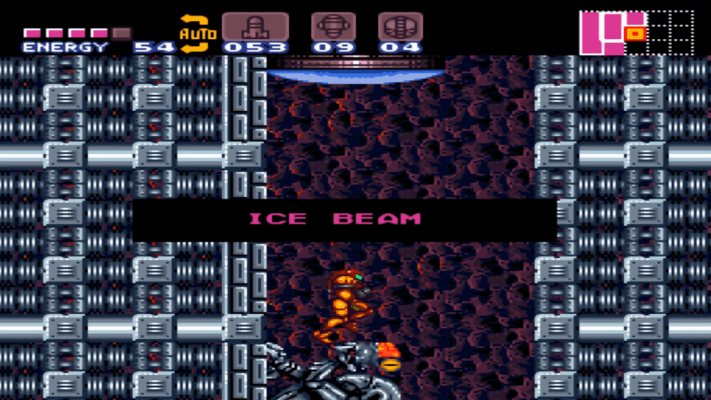 Super Metroid Rotation Hack Turns Zebes on its Side