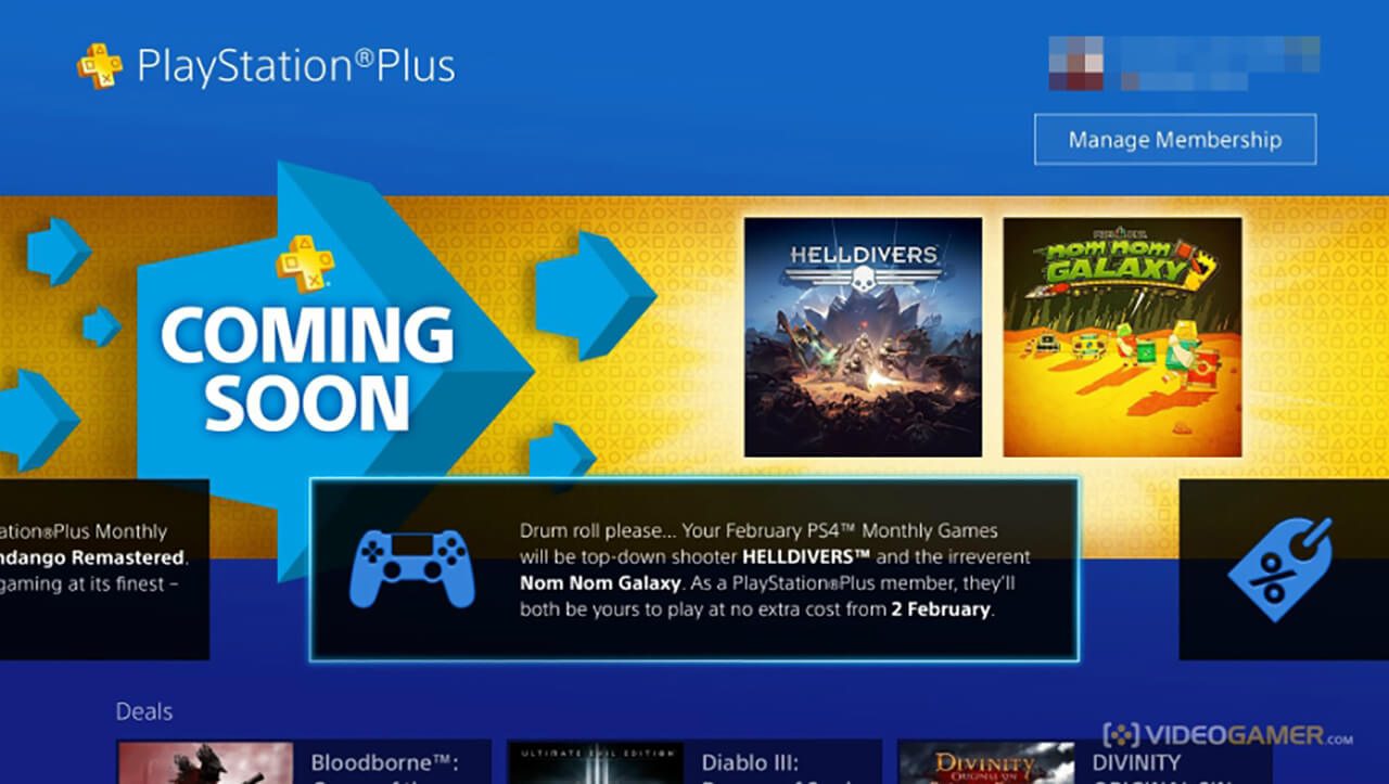 PS Plus February 2016 Lineup