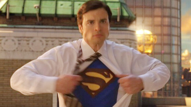 Tom Welling as Clark Kent/Superman