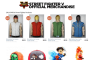 Street Fighter V Getting Official Hoodies From Merchoid