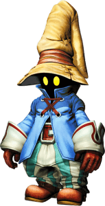 Final Fantasy 9 - It's the one the features this adorable little guy, Vivi.