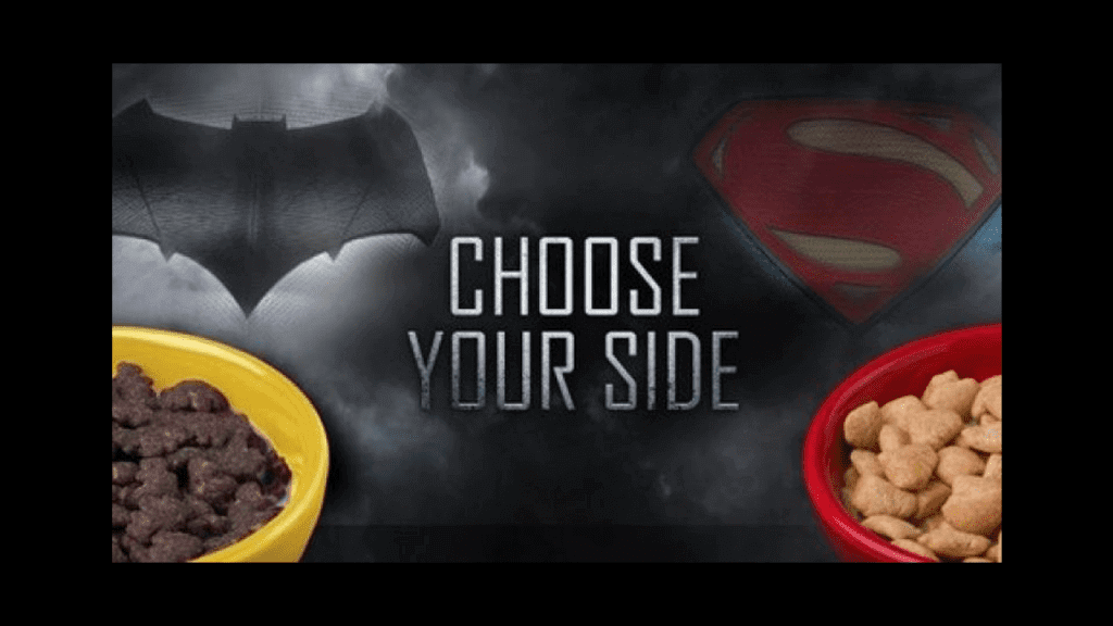 General Mills Asks: Batman Or Superman? With New Cereal