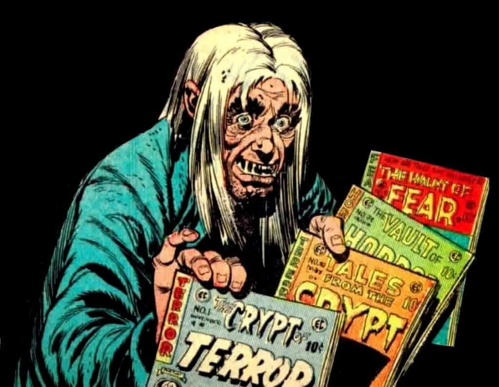 Tales from the Crypt Comic version of the crypt keeper