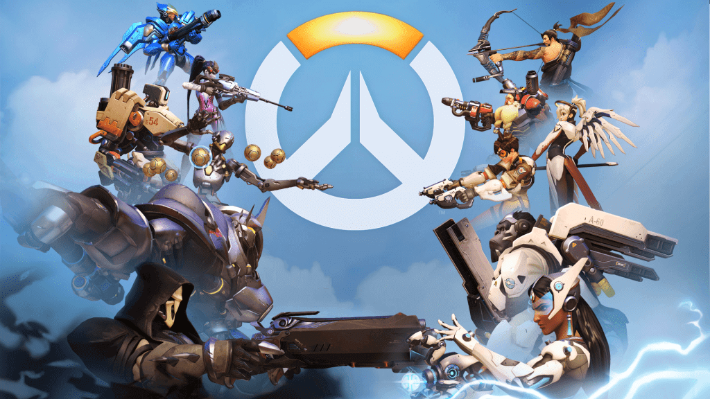 Overwatch Characters Face Off
