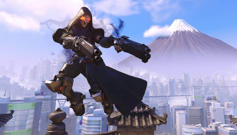 Reaper is sure to be a favourite character in overwatch