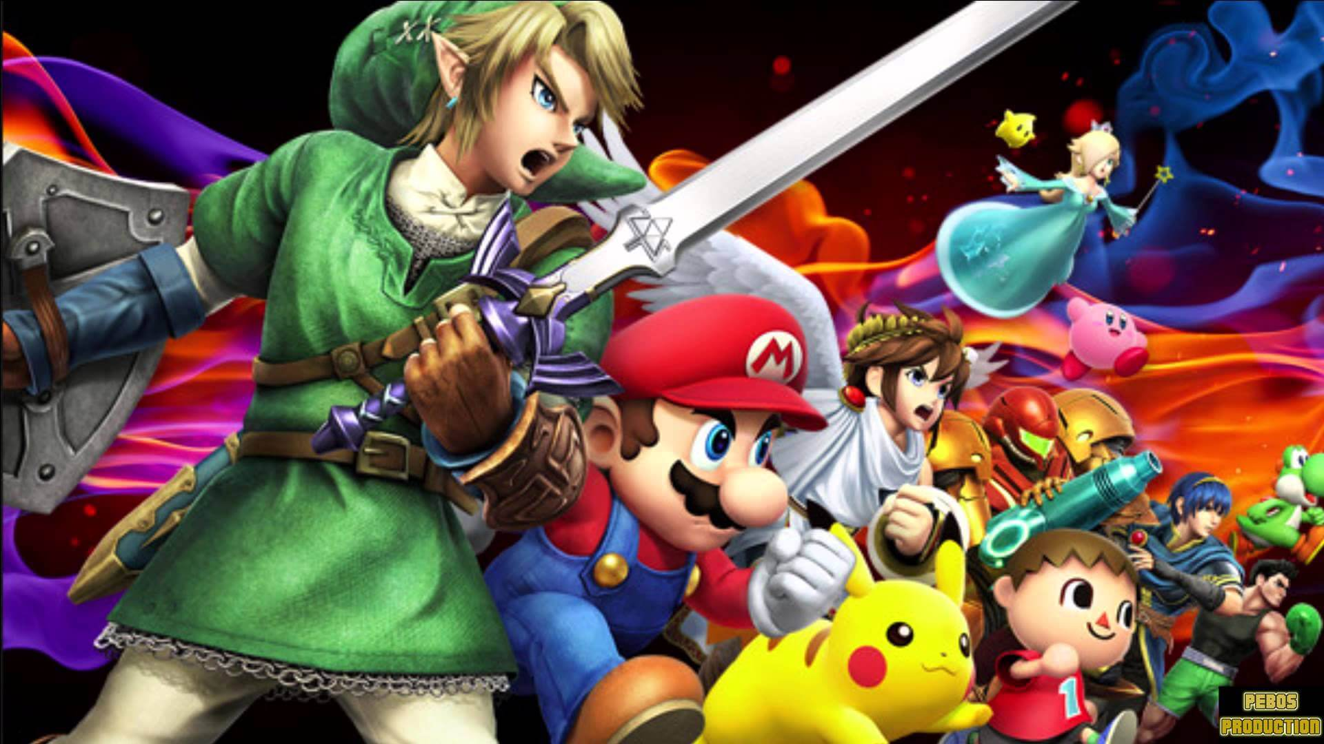 Super Smash Bros. Characters Release Today
