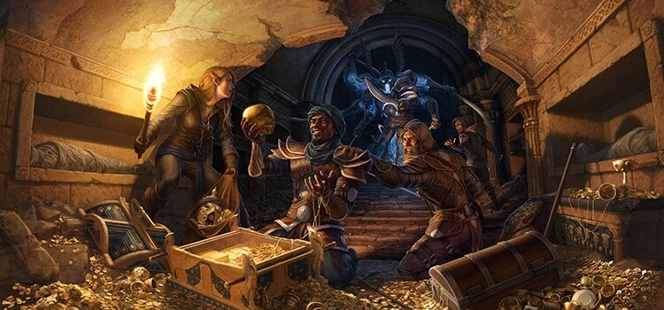 Join the Thieves Guild and stop the Iron Wheel.