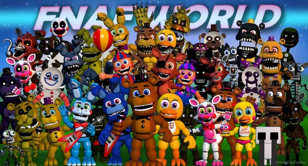 Five Nights At Freddy's World Gets Release Date