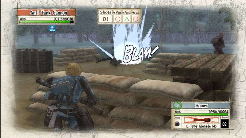 Valkyria Chronicles third-person strategy gameplay never ceases to impress.