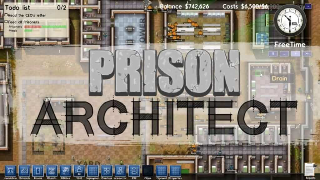 Prison Architect Coming to Consoles This Spring