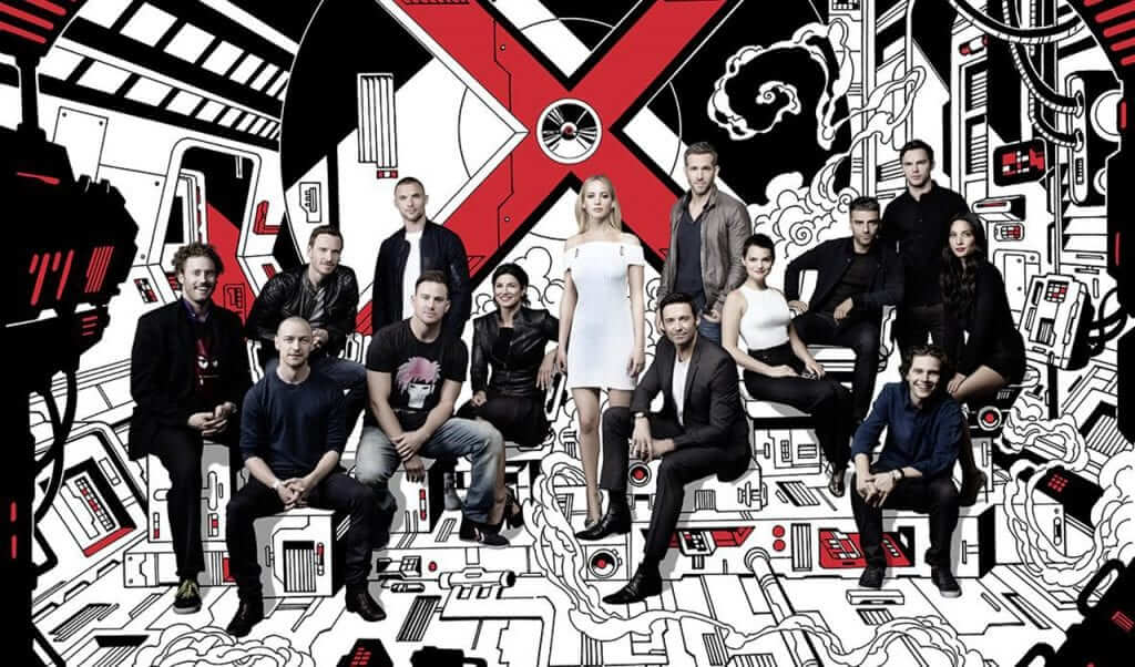 X-Men Cinematic Universe Cast Assembles