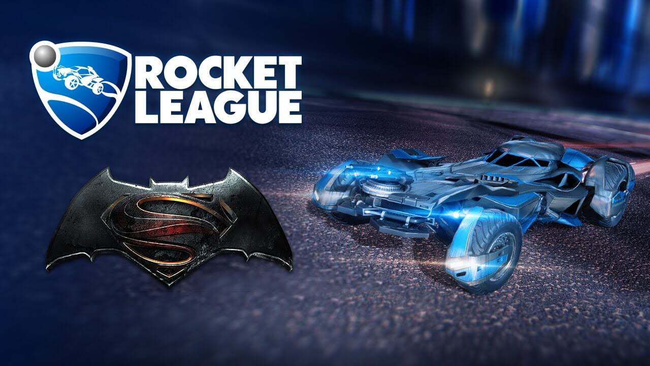 Rocket League is Getting the Batmobile