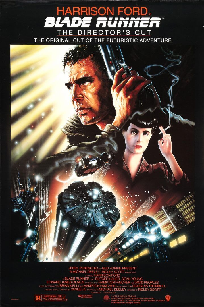 Blade Runner 2 is coming in 2018.