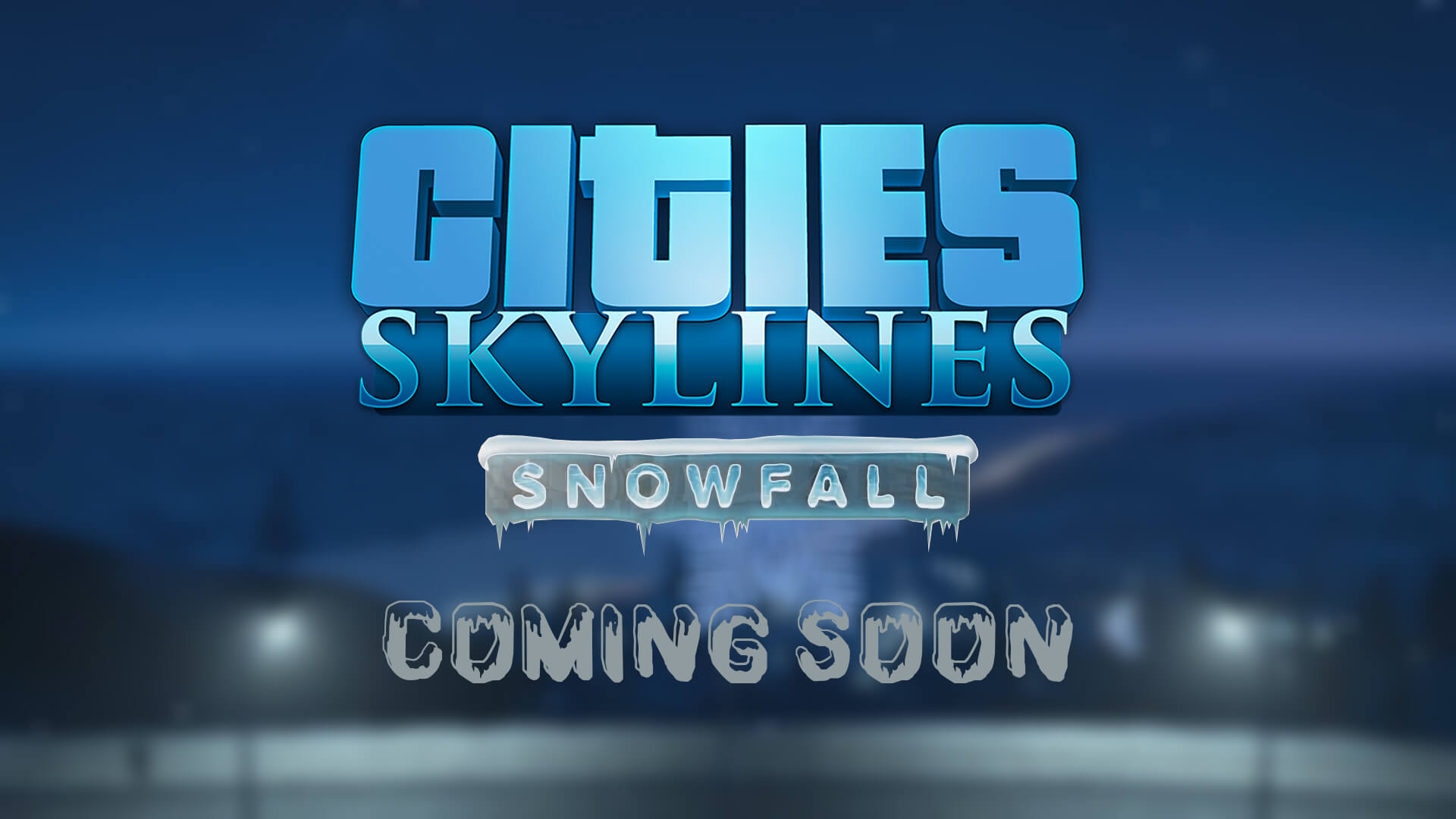 Cities Skylines: Snowfall Gets Release Date