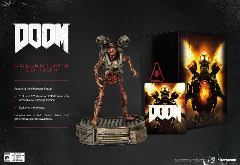 Doom's special edition is terrifying and incredible at the same time.