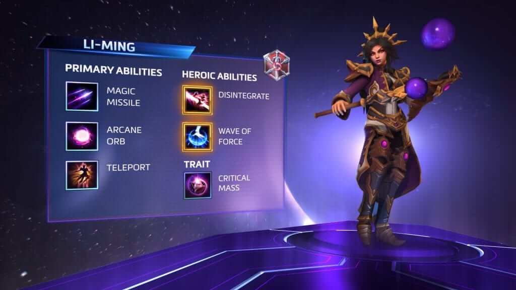 Heroes of the storm li ming enters the nexus - Heroes of the storm space lord leoric ...