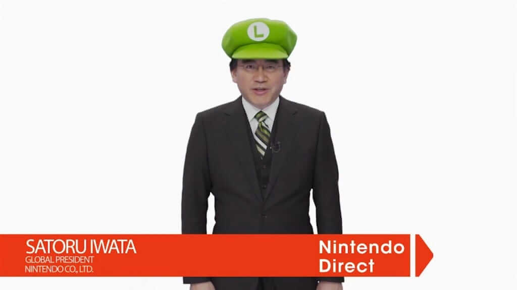 The Late Iwata Host A Nintendo Direct