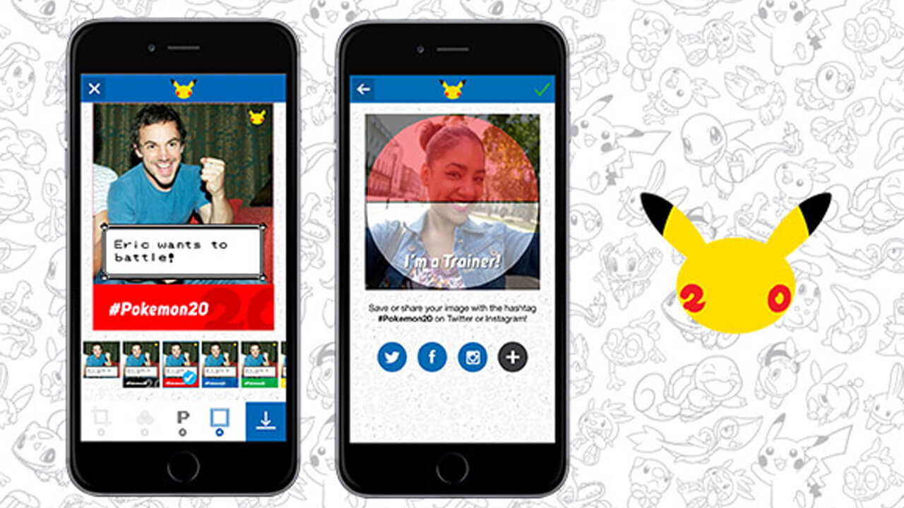 Free Pokemon Photo Booth App Now Available