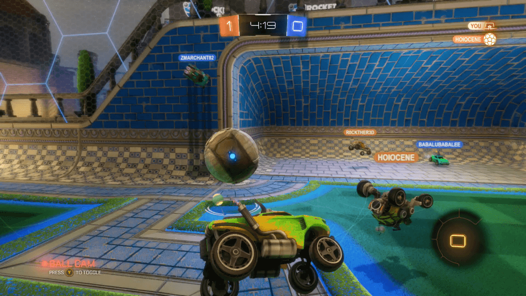Rocket League Can Become Chaotically Fun When More Cars Are Involved
