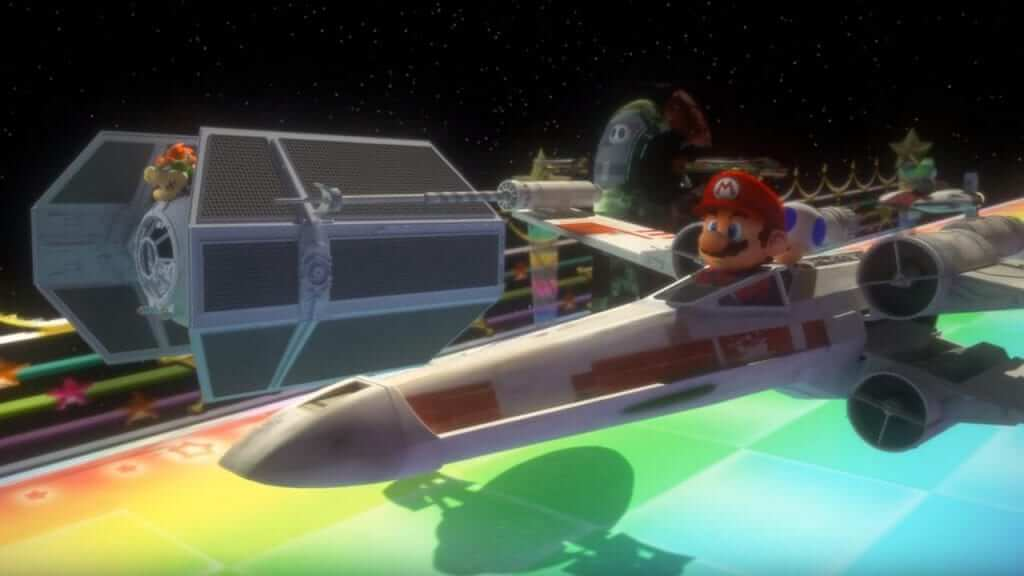 Star Kart Mashes Mario Kart and Star Wars Together
