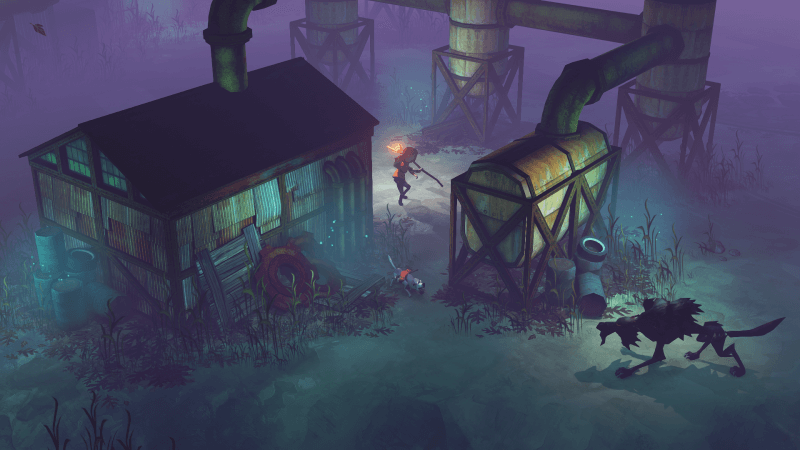 Wolves pose a large threat in the Flame and the Flood.