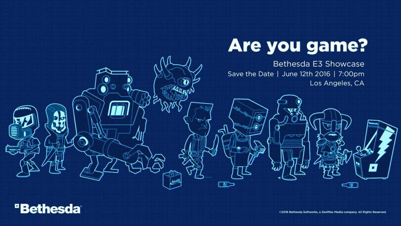 Bethesda Announces Date For E3 2016 Press Conference