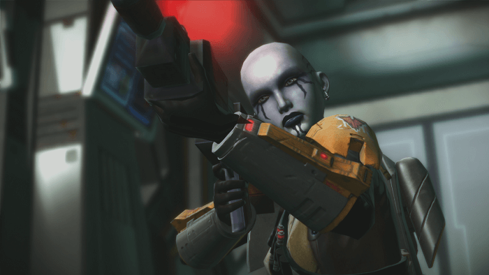 Firebrand should look familiar to players who have completed the Imperial Agent storyline in Star Wars: The Old Republic.