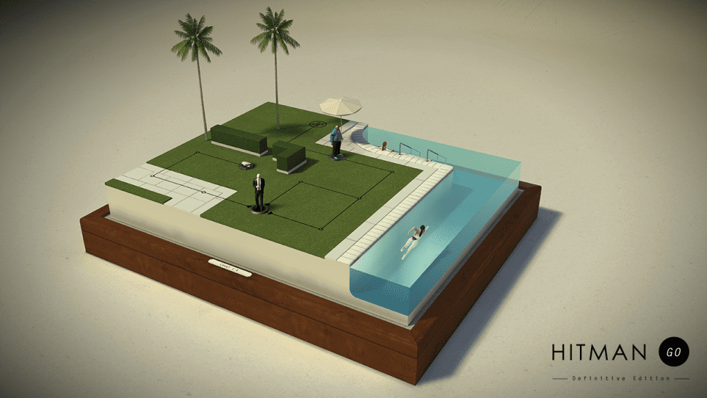 Hitman GO Stage