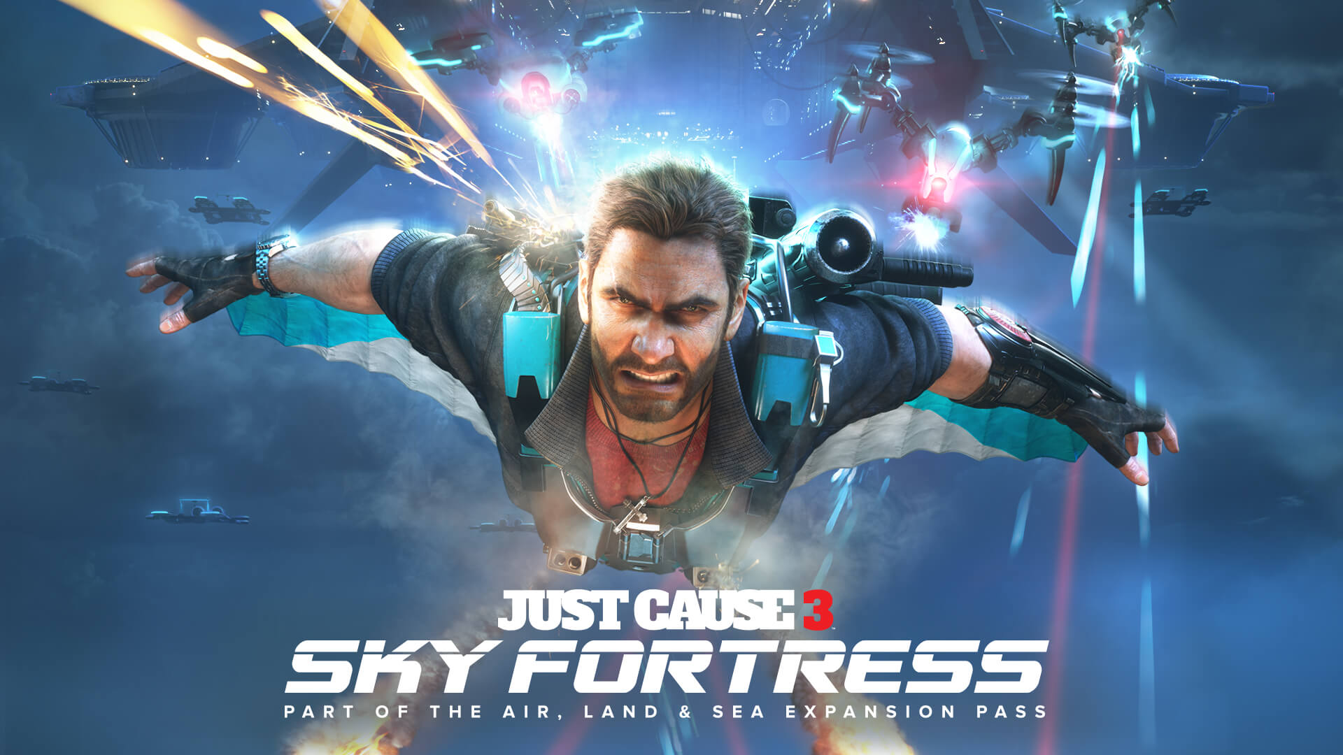 Just Cause 3: Sky Fortress Looks Plain Wild