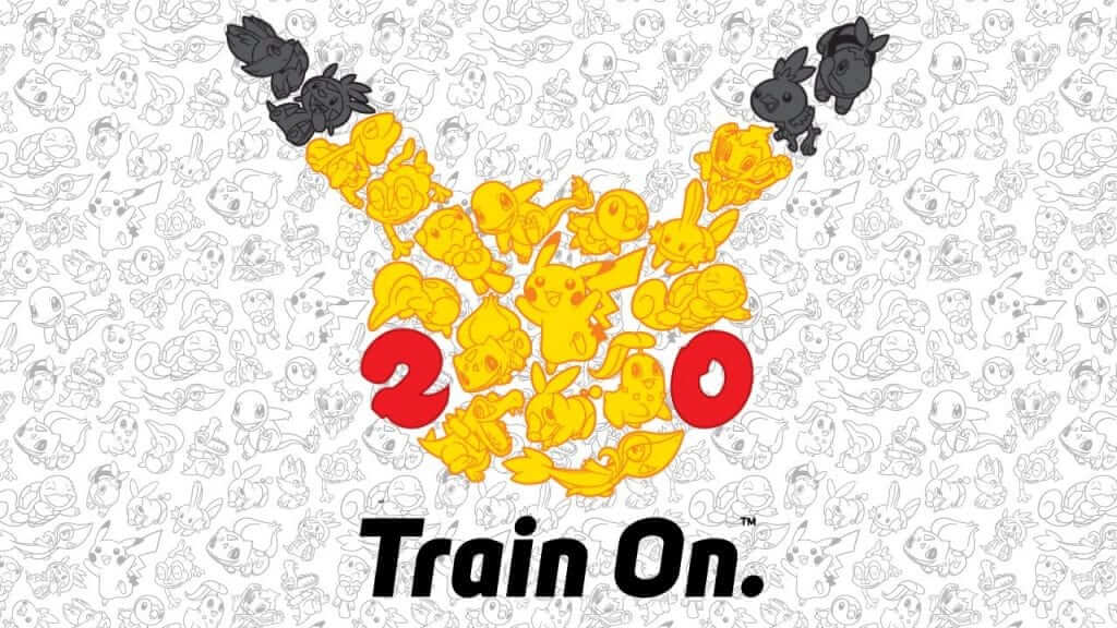 Pokemon Celebrating 20 Years
