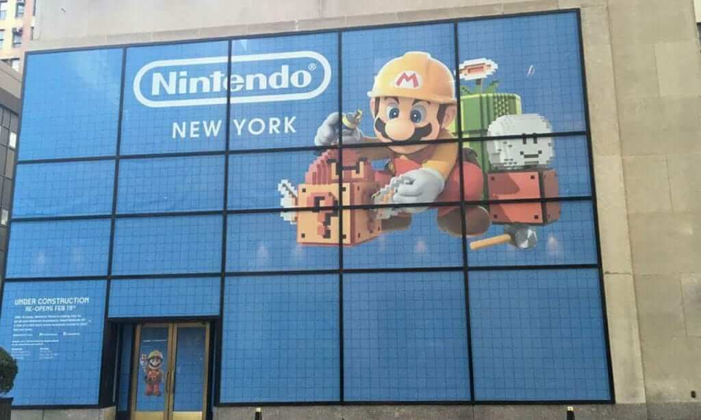 Free Limited Edition Coins Available at Nintendo NYC