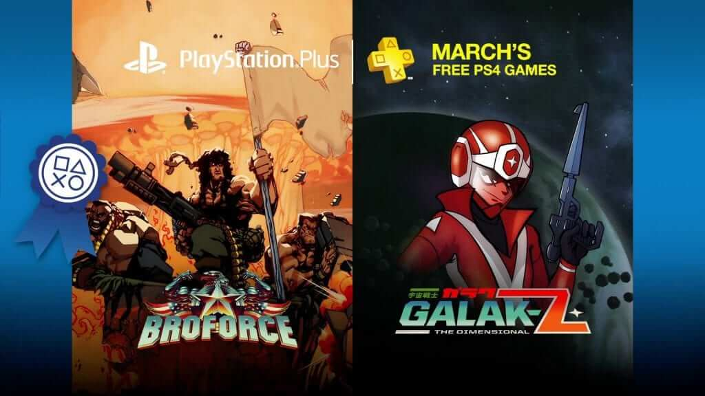 PlayStation Plus Games for March 2016 Announced
