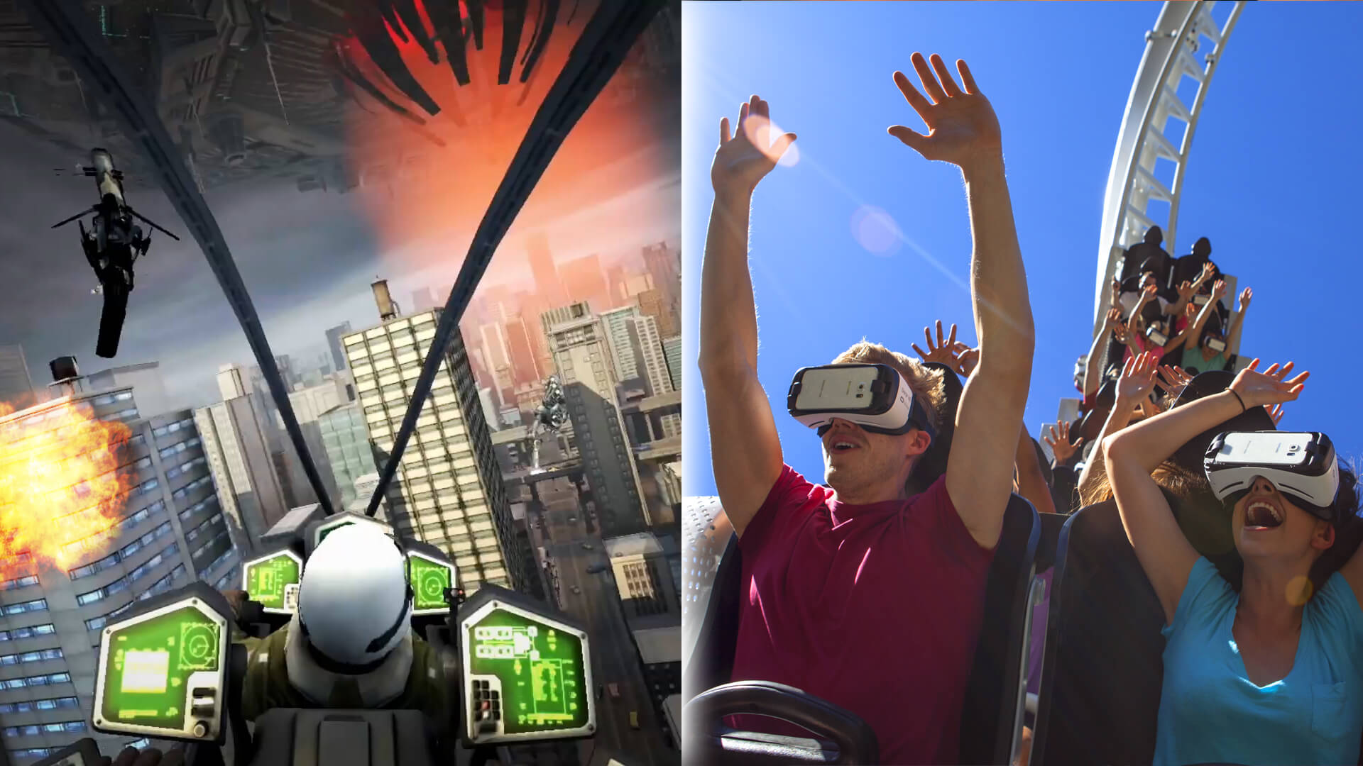 Six Flags Has America's First VR Roller Coaster