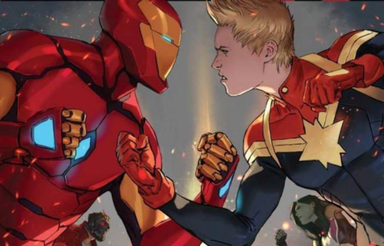 Civil War 2: Tensions Heat Up in the Comics