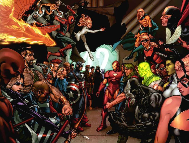 This image from the first Civil War shows us what kind of battle to expect in Civil War 2.