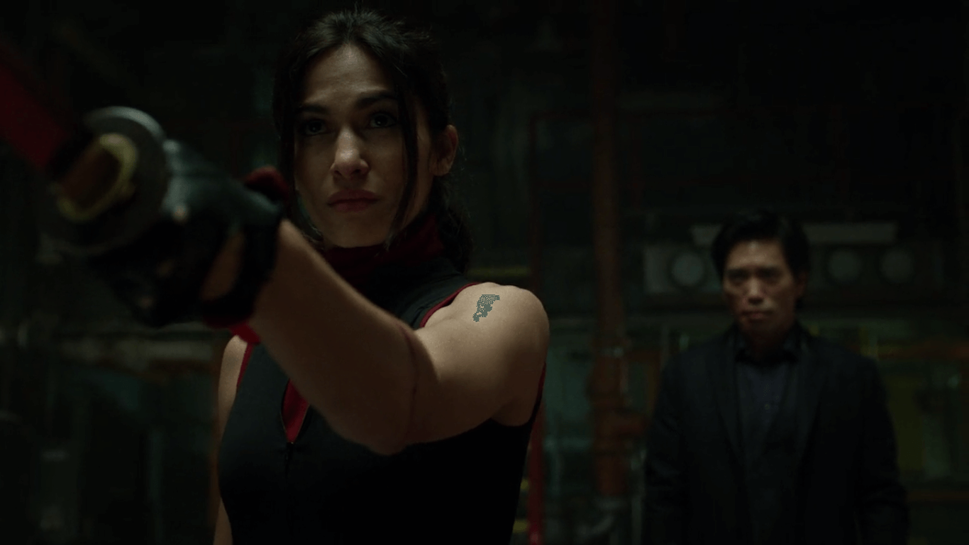 Elektra is another new character to the series, and she brings out a whole new side to our favorite hero.