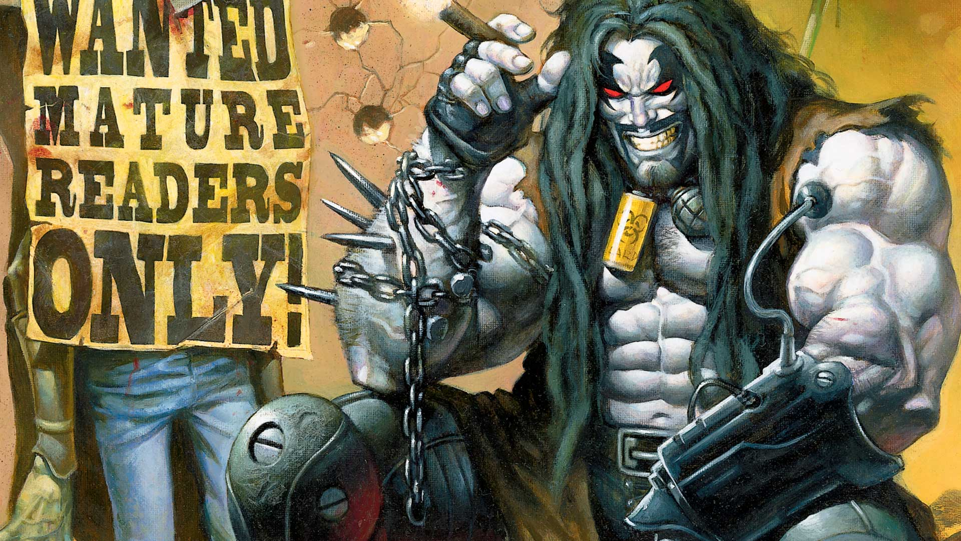 Wonder Woman Writer Moves Forward With Lobo Film
