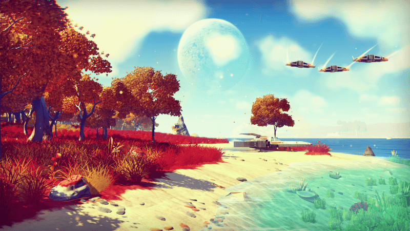 No Man's Sky has looked incredible from the start!