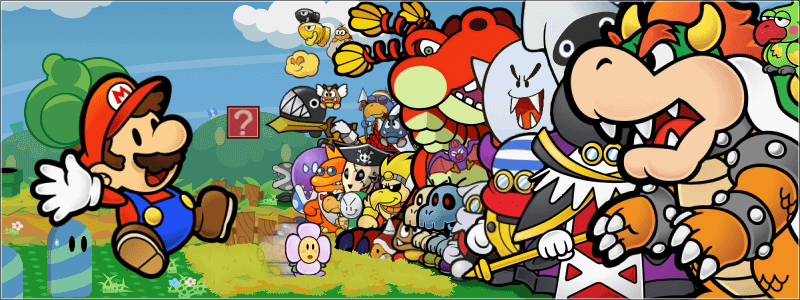 Paper Mario Color Splash is sure to retain the series' trademark charm.