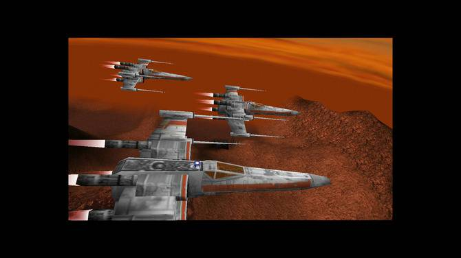 Fly in missions against the Empire in the ever popular X-Wing.