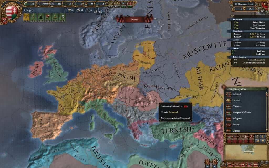 Europa Universalis IV:  Mare Nostrum Expansion Announced