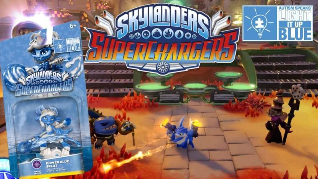 Skylanders Lights Up Blue for Autism Campaign