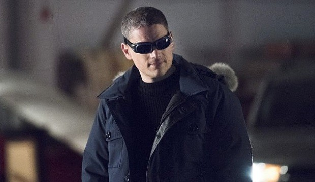 Miller in his portrayal of The Flash villain Captain Cold.