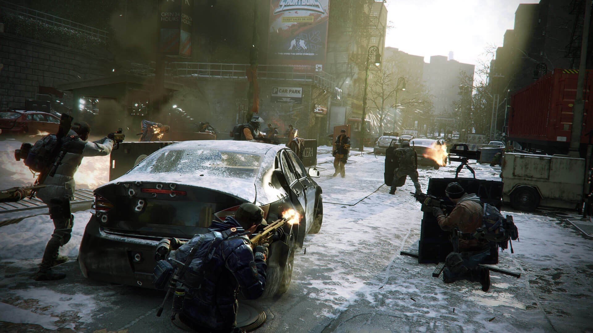 The Division's Dark Zone Isn't Hostile Enough Says Massive
