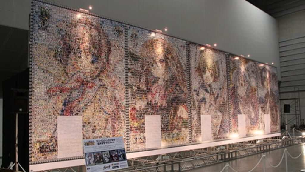 Trading card mosaics. No longer only in Japan.