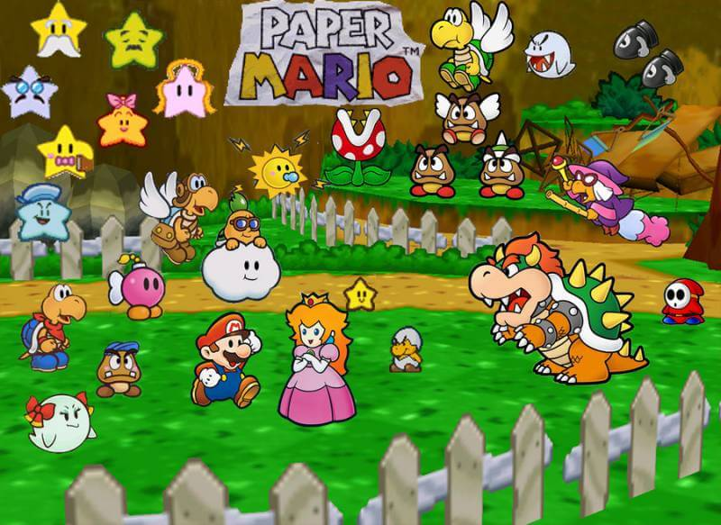 Paper Mario Color Splash will be the fifth main game in the series.