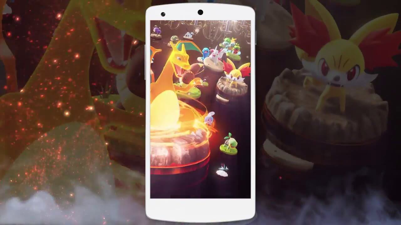 New Pokemon Co-Master Smartphone Video Game Announced