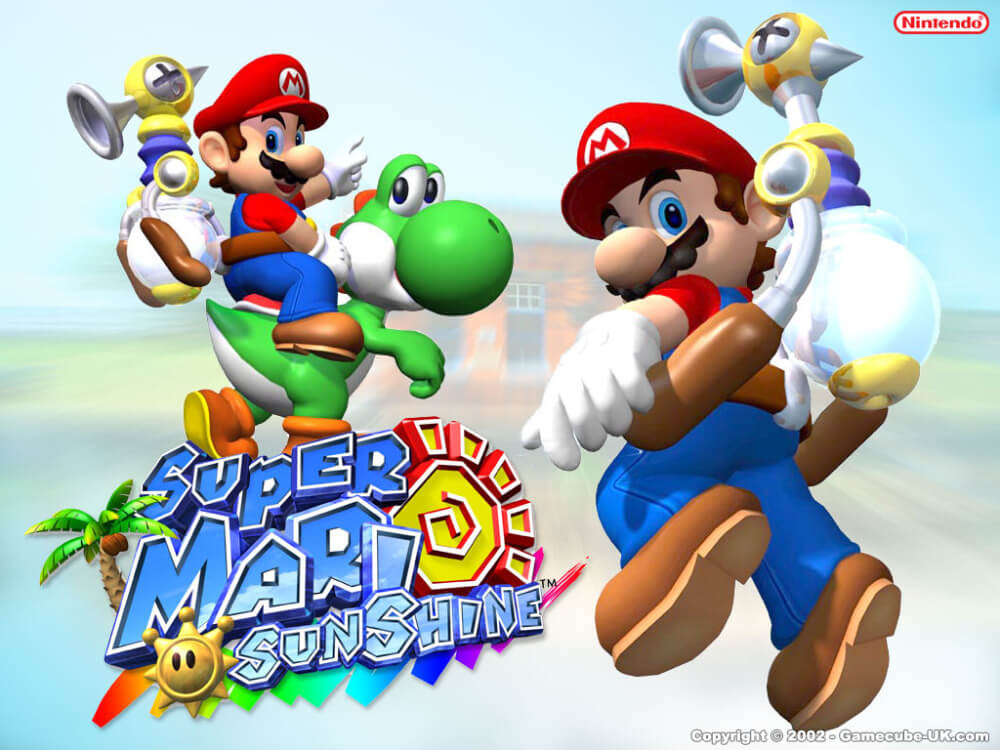 Super Mario Sunshine is a fantastic game, even if it does take the famous plumber in a slightly different direction.